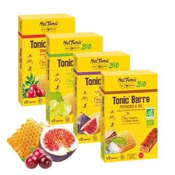 Lot de 4 étuis TONIC'Barres assorties
